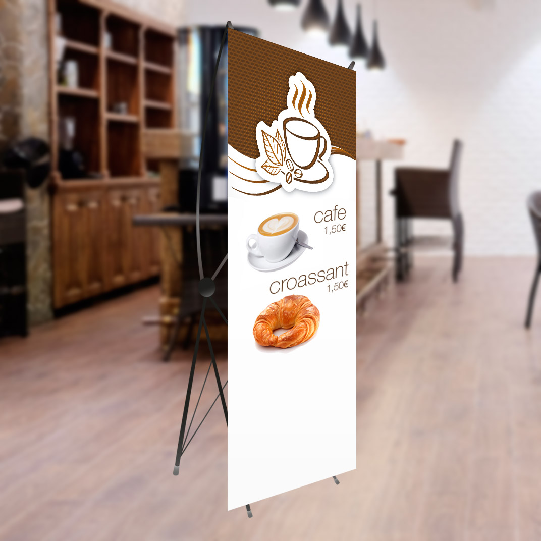 Displays X-Banner en Malgrat de Mar